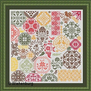 Patchwork Quaker Version Ete indien